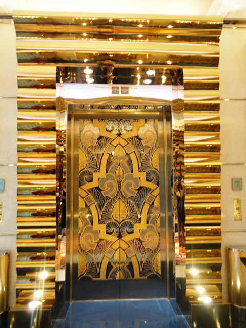 The Possibilities | Living My Passion Burj Al Arab Elevator Inside
